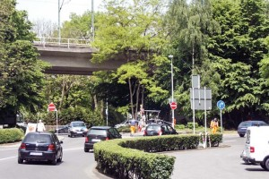 """Das Tunnelportal an der Heidestraße ermöglicht die Anbindung der """"SPD-Schleife"""" in beide Fahrtrichtungen und sorgt danach für weitere Verkehrsentlastung."""