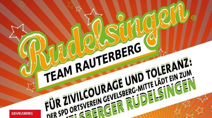 Singen Macht Mut! Rudelsingen Für Zivilcourage Und Toleranz Am 4.11.2014
