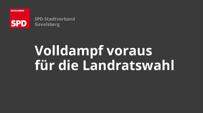 SPD Gevelsberg: Volldampf Voraus Für Die Landratswahl