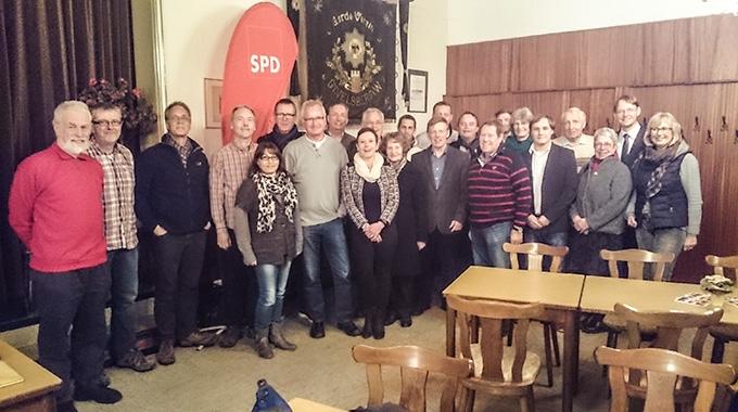 Jahreshauptversammlung Des SPD Ortsvereins Gevelsberg