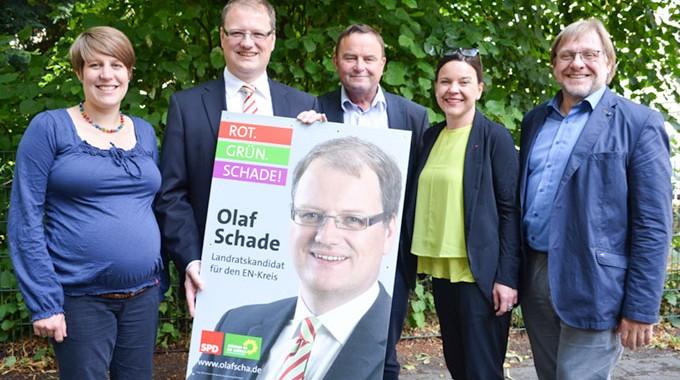 Kandidat Authentisch Und Kompetent: Gemeinsamer Kandidat Von SPD Und Grünen Auch Die FDP Unterstützt Olaf Schade