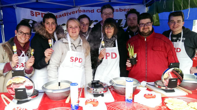 Oster-Bürgercafé Fest In Juso Hand