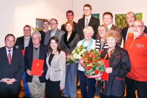"""Im Würdigen Rahmen Ehrte Die SPD Am Mittwoch (25. November) Ihre Jubilare Des Jahres 2015 Im Bürgerzentrum """"Alte Johanneskirche"""" In Vogelsang."""
