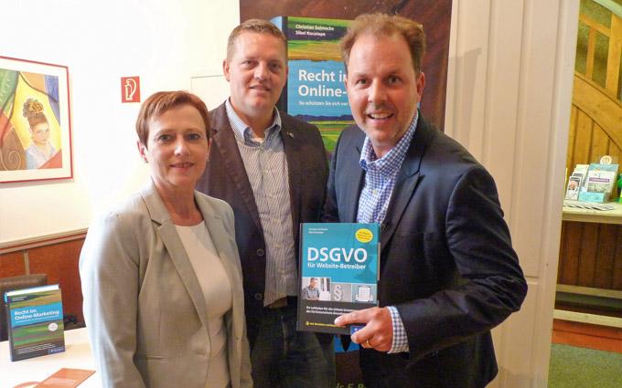 Großes Interesse An SPD-Veranstaltung  Zur Neuen Datenschutzgrundverordnung