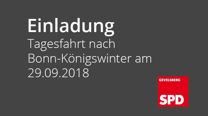 Deutsche Geschichte Und Kostbarkeiten Einer Landschaft Erleben:  Einladung Zur Tagesfahrt Nach Bonn-Königswinter