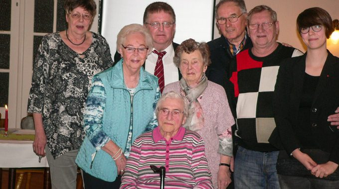 Jahreshauptversammlung Des SPD-Ortsvereins Vogelsang