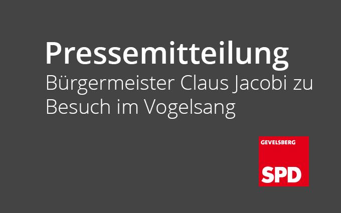 Bürgermeister Claus Jacobi Zu Besuch Im Vogelsang