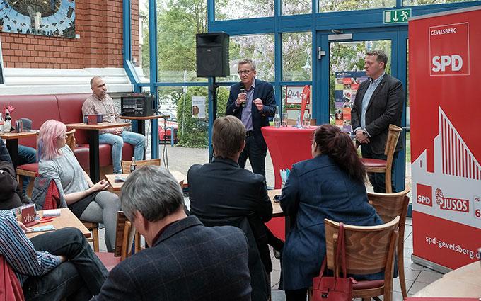 Prof. Dr. Dietmar Köster, MdEP Zu Gast Beim SPD Stadtverband Gevelsberg