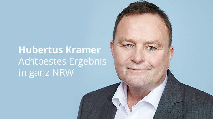 Hubertus Kramer: Achtbestes Ergebnis In Ganz NRW