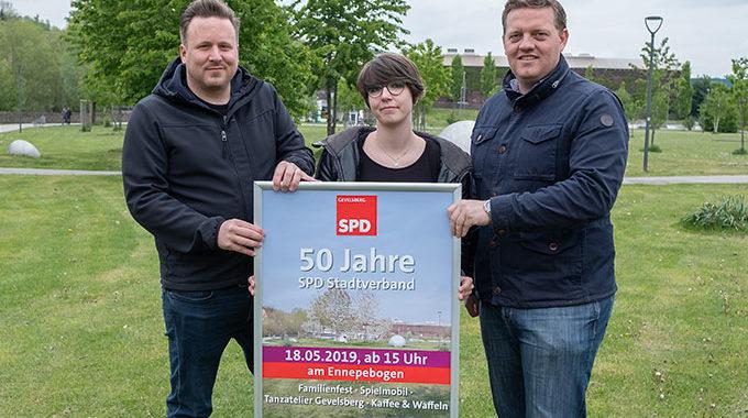 50 Jahre SPD Stadtverband Gevelsberg – Familienfest Und Traditionelles Livekonzert Am 18.05. Am Ennepebogen