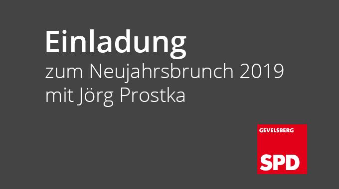 Einladung Zum Neujahrsbrunch 2019 Mit Jörg Prostka