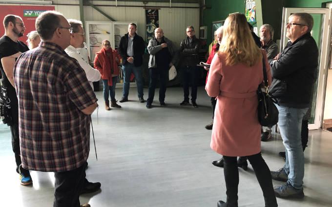 Ortstermin Der SPD-Fraktion Bei Den Bogensportfreunden E.V. In Gevelsberg