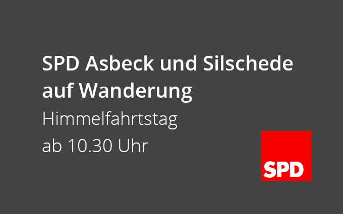 SPD Asbeck Und Silschede Auf Wanderung